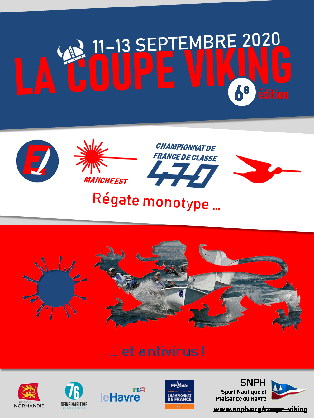 Affiche Coupe Viking 2020